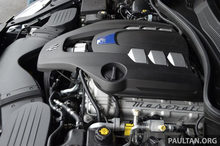 DRIVEN: New Maserati Quattroporte V6 tested in Italy Image #177432