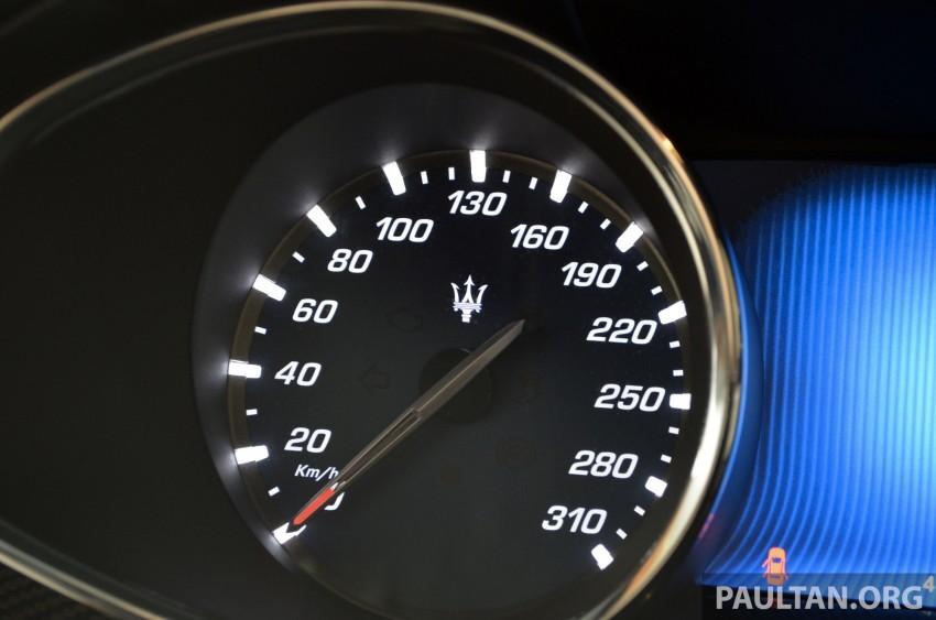 DRIVEN: New Maserati Quattroporte V6 tested in Italy Image #177434