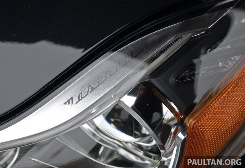 DRIVEN: New Maserati Quattroporte V6 tested in Italy Image #177435