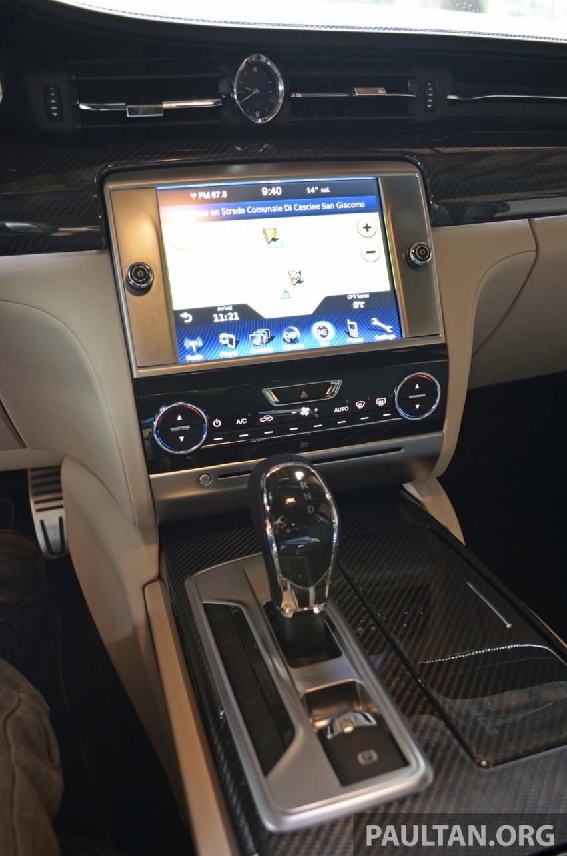 DRIVEN: New Maserati Quattroporte V6 tested in Italy Image #177438