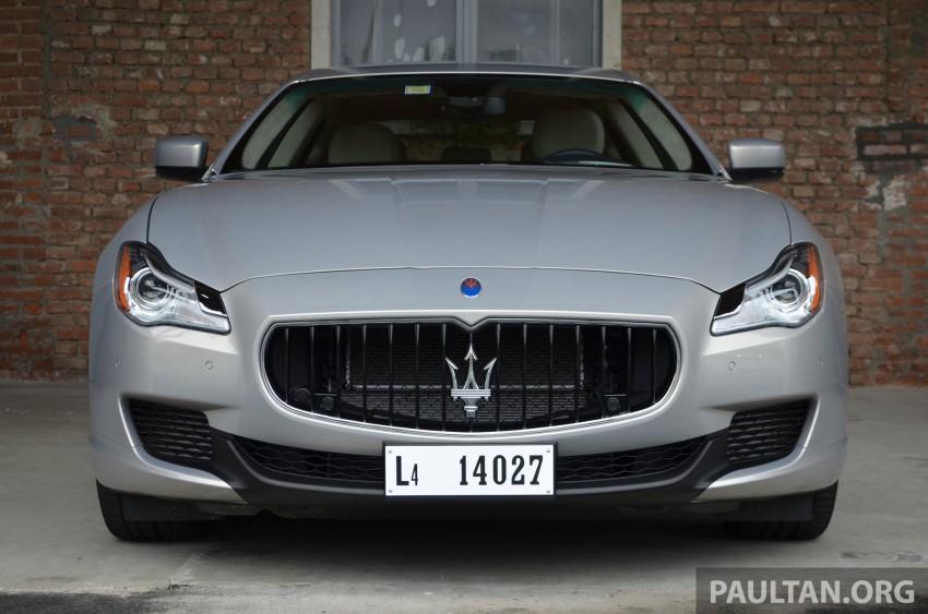 DRIVEN: New Maserati Quattroporte V6 tested in Italy Image #177410