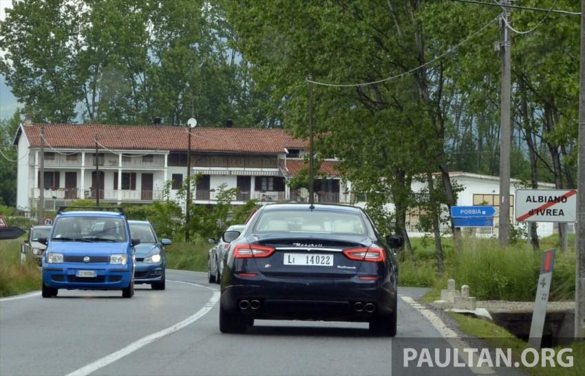 DRIVEN: New Maserati Quattroporte V6 tested in Italy Image #177453