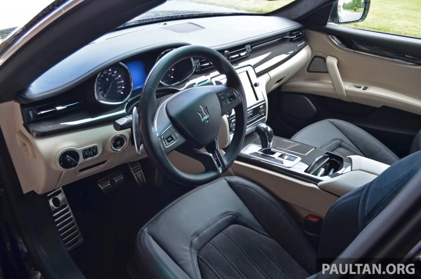DRIVEN: New Maserati Quattroporte V6 tested in Italy Image #177463
