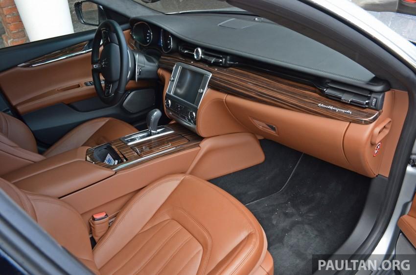 DRIVEN: New Maserati Quattroporte V6 tested in Italy Image #177465