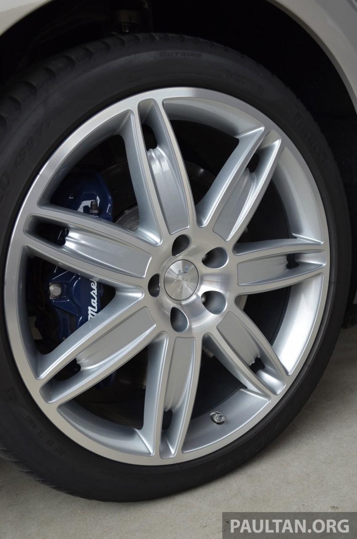 DRIVEN: New Maserati Quattroporte V6 tested in Italy Image #177412