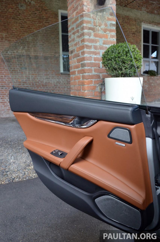 DRIVEN: New Maserati Quattroporte V6 tested in Italy Image #177467