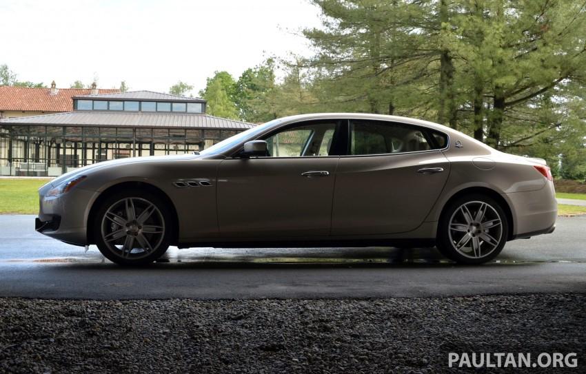 DRIVEN: New Maserati Quattroporte V6 tested in Italy Image #177469