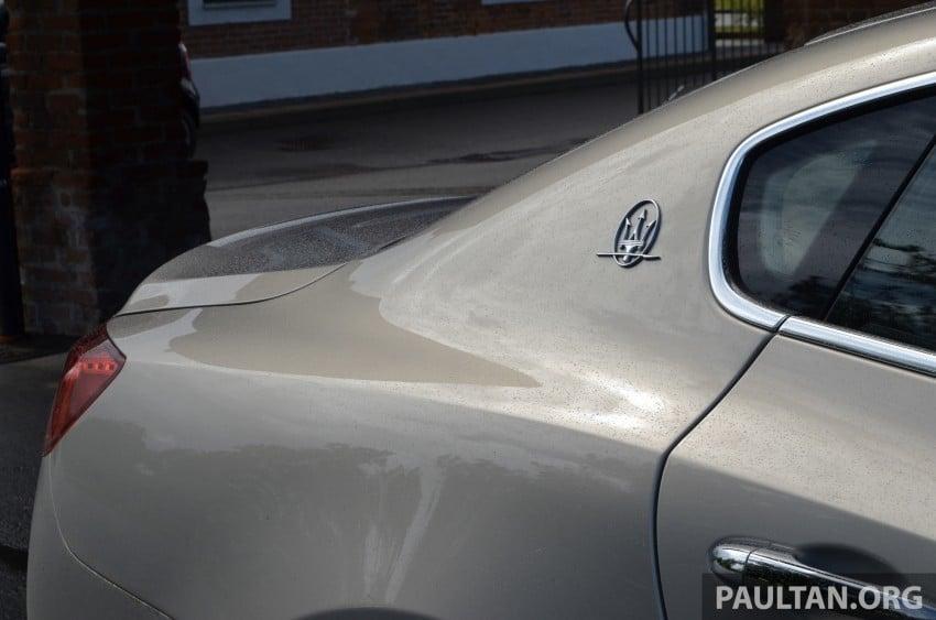 DRIVEN: New Maserati Quattroporte V6 tested in Italy Image #177472