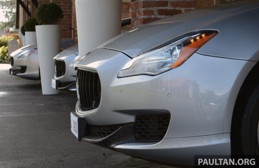 DRIVEN: New Maserati Quattroporte V6 tested in Italy Image #177473