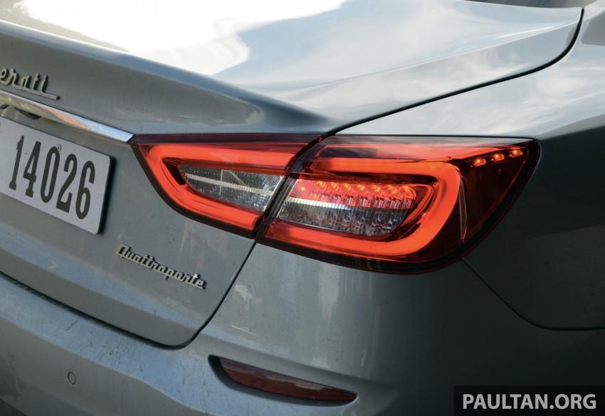 DRIVEN: New Maserati Quattroporte V6 tested in Italy Image #177475