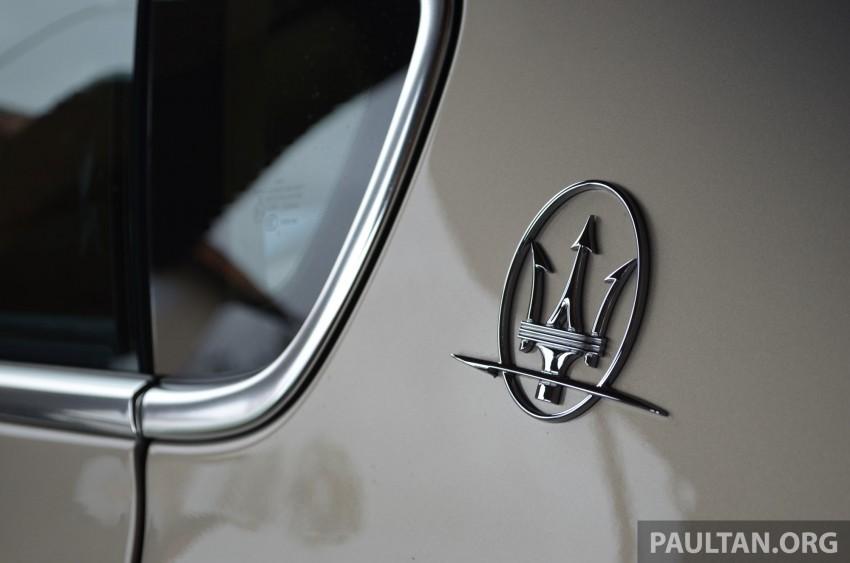 DRIVEN: New Maserati Quattroporte V6 tested in Italy Image #177413