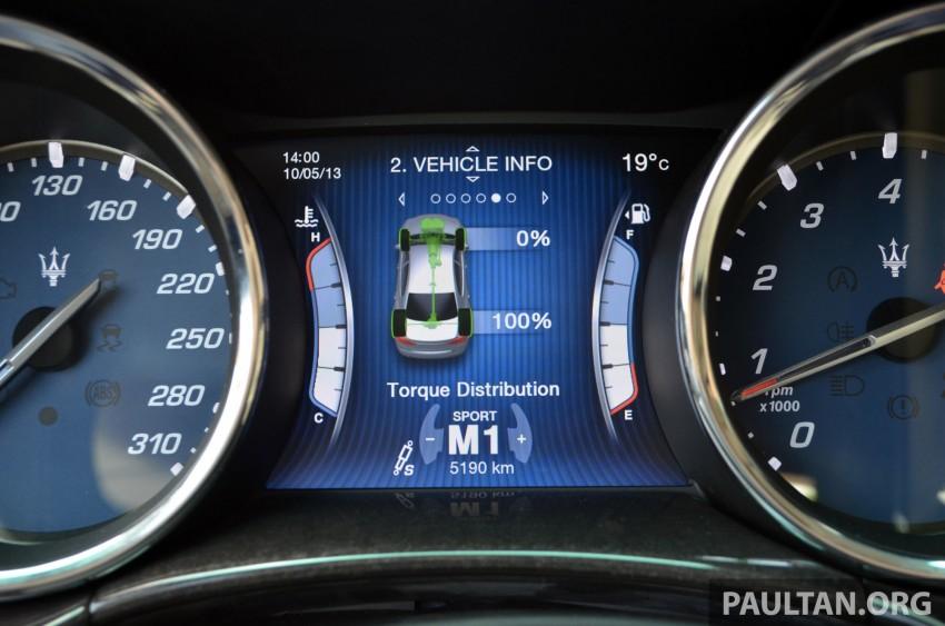 DRIVEN: New Maserati Quattroporte V6 tested in Italy Image #177479