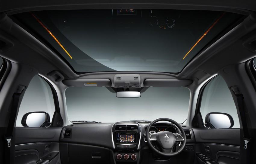 Mitsubishi ASX – facelift introduced, RM140k Image #176238