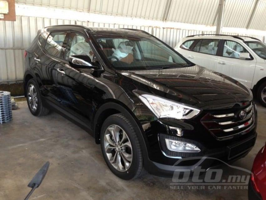Hyundai Santa Fe listed on oto.my – end-June debut Image #177128