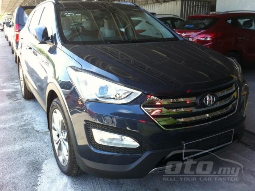 Hyundai Santa Fe listed on oto.my – end-June debut Image #177127