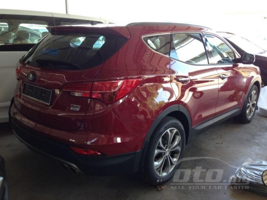 Hyundai Santa Fe listed on oto.my – end-June debut Image #177123