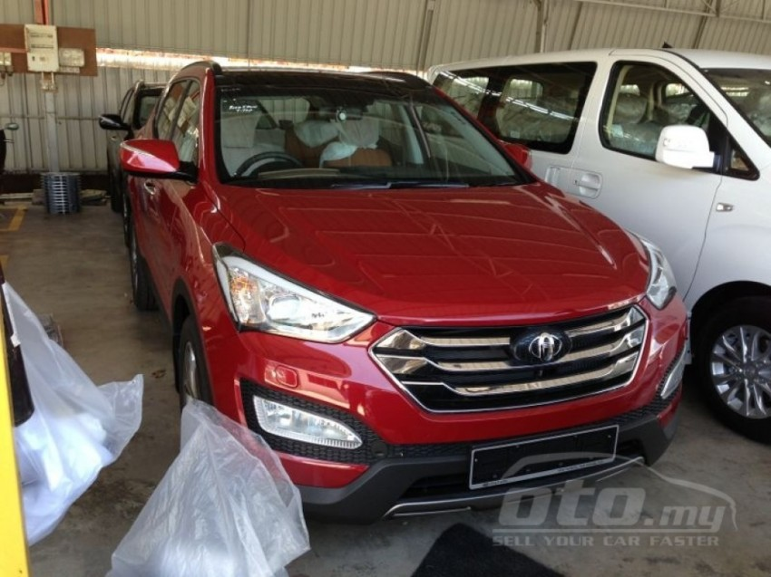 Hyundai Santa Fe listed on oto.my – end-June debut Image #177132