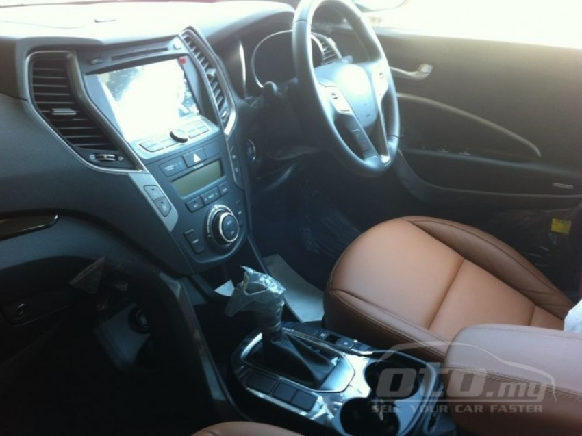 Hyundai Santa Fe listed on oto.my – end-June debut Image #177131
