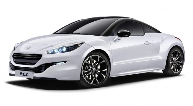 peugeot rcz magnetic limited edition announced