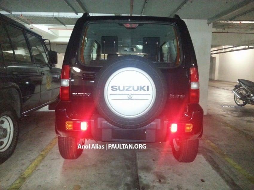 SPIED: Suzuki Jimny seen at JPJ Putrajaya Image #177072