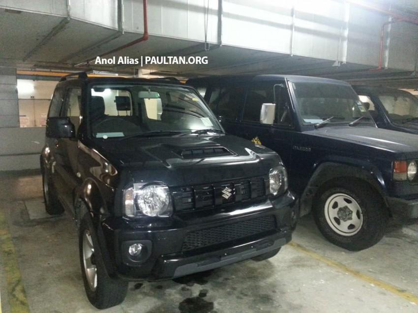 SPIED: Suzuki Jimny seen at JPJ Putrajaya Image #177074