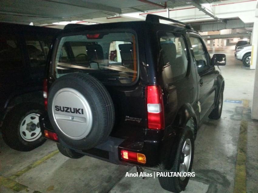 SPIED: Suzuki Jimny seen at JPJ Putrajaya Image #177076