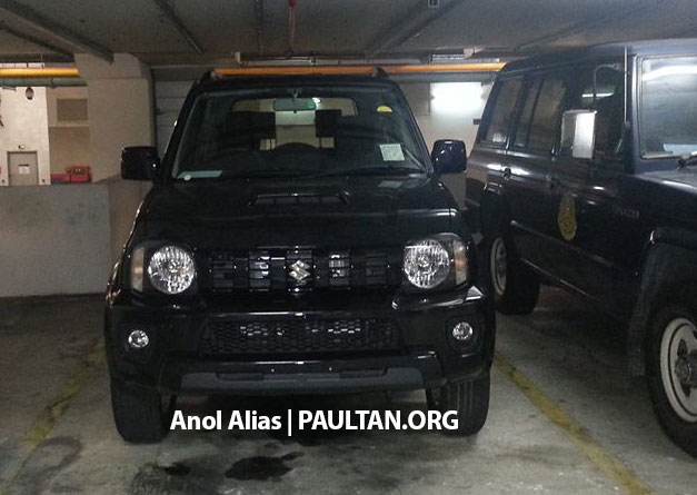 SPIED: Suzuki Jimny seen at JPJ Putrajaya Image #177077
