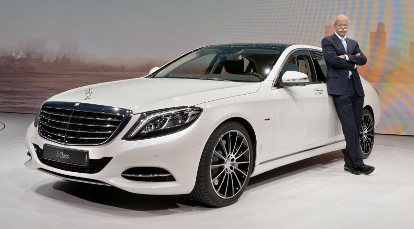 W222 Mercedes-Benz S-Class – official details Image #174714