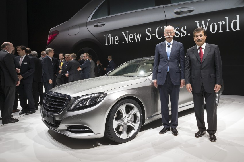 W222 Mercedes-Benz S-Class – official details Image #174716