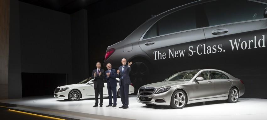 W222 Mercedes-Benz S-Class – official details Image #174717