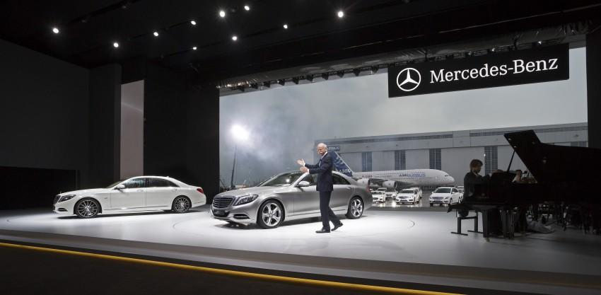 W222 Mercedes-Benz S-Class – official details Image #174718