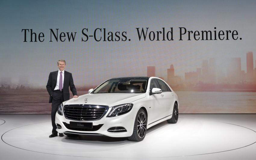 W222 Mercedes-Benz S-Class – official details Image #174722