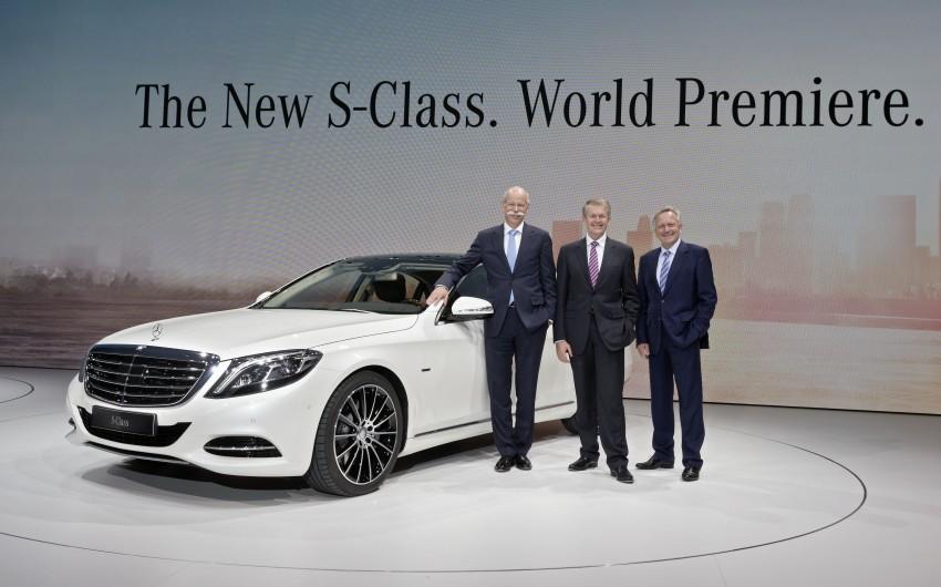 W222 Mercedes-Benz S-Class – official details Image #174723