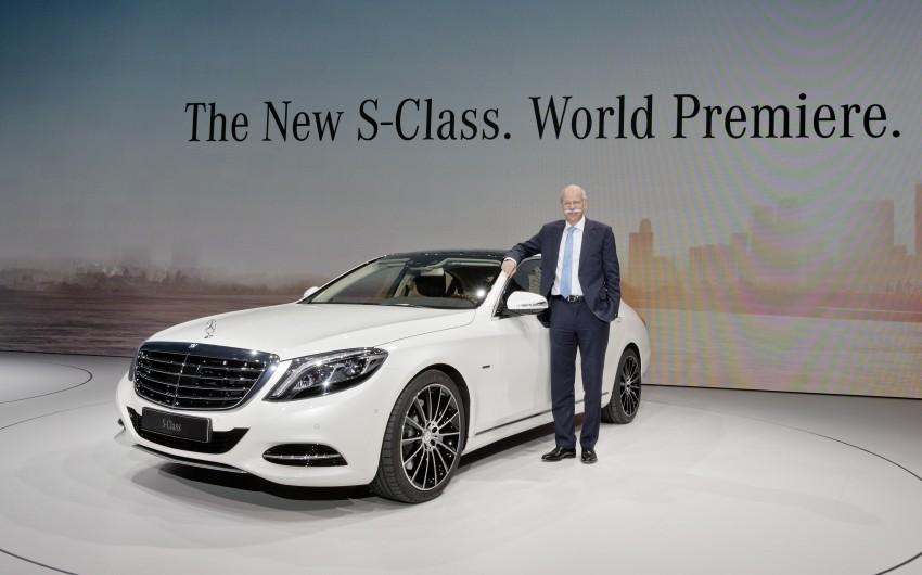 W222 Mercedes-Benz S-Class – official details Image #174724