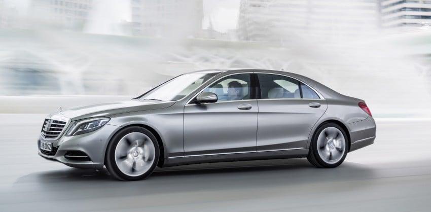 W222 Mercedes-Benz S-Class – official details Image #174758