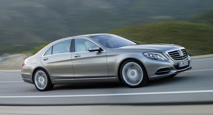 W222 Mercedes-Benz S-Class – official details Image #174769