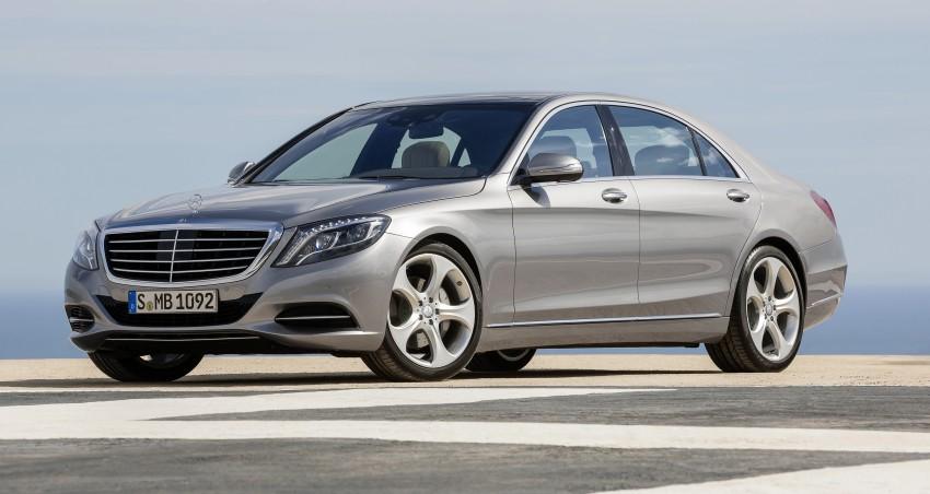 W222 Mercedes-Benz S-Class – official details Image #174774