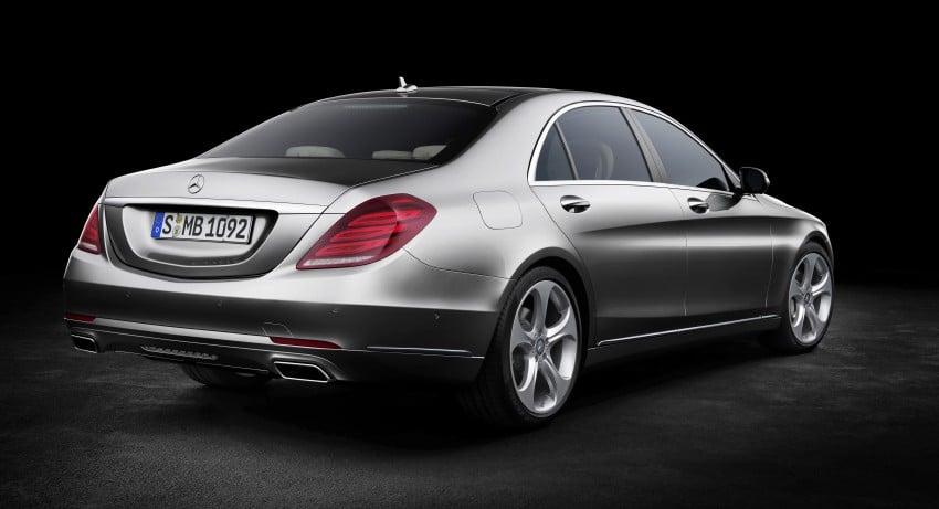 W222 Mercedes-Benz S-Class – official details Image #174778