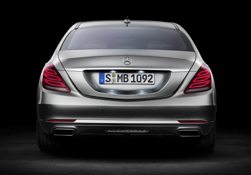 W222 Mercedes-Benz S-Class – official details Image #174781