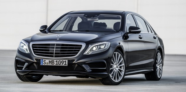 Mercedes-Benz S 350 BlueTec ( W222) 2012