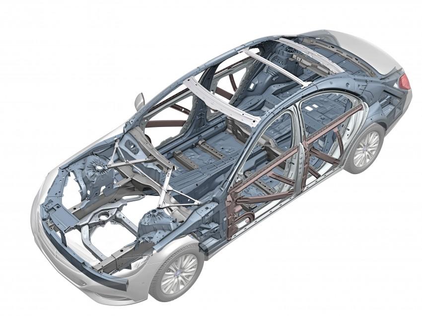 W222 Mercedes-Benz S-Class – official details Image #174786