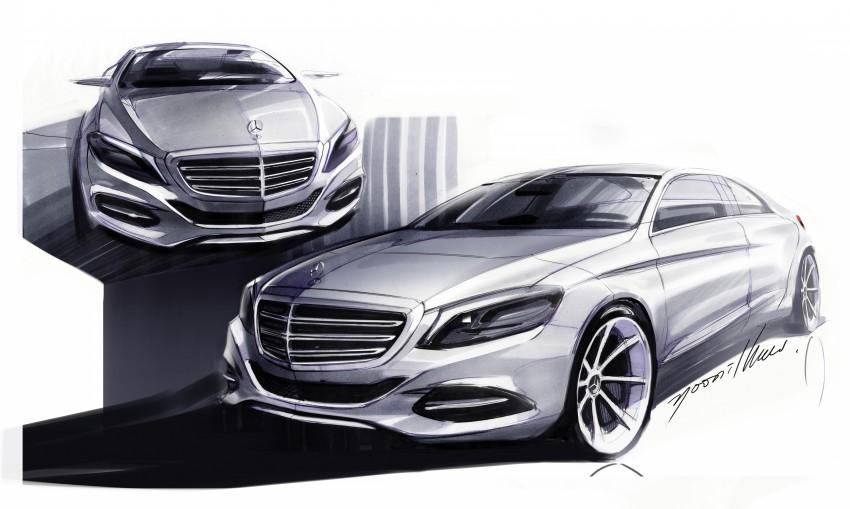 W222 Mercedes-Benz S-Class – official details Image #174793