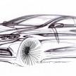 Mercedes-Benz S-Klasse Skizzen (W 222) 2013
