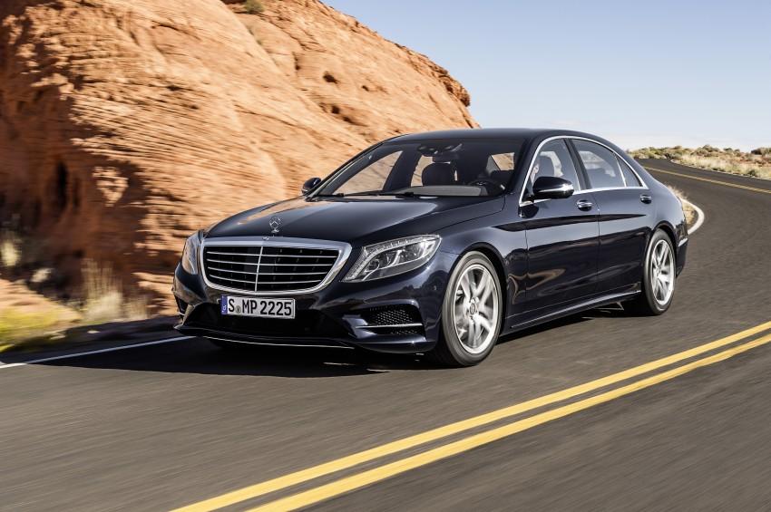 W222 Mercedes-Benz S-Class – official details Image #174799