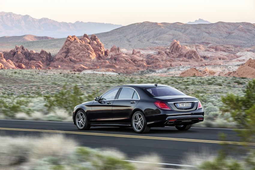 W222 Mercedes-Benz S-Class – official details Image #174804