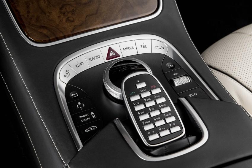 W222 Mercedes-Benz S-Class – official details Image #174806
