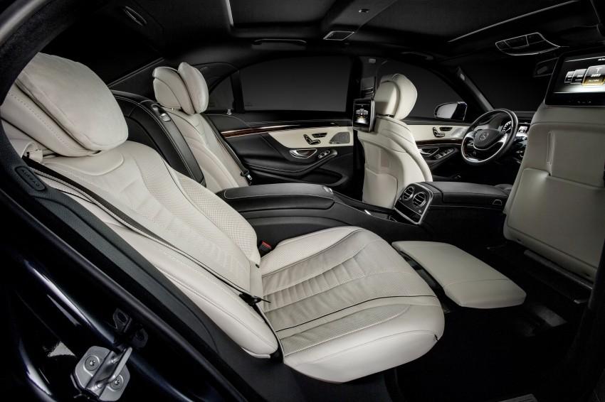 W222 Mercedes-Benz S-Class – official details Image #174807