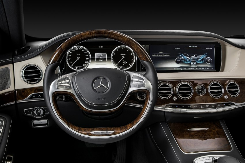 W222 Mercedes-Benz S-Class – official details Image #174810