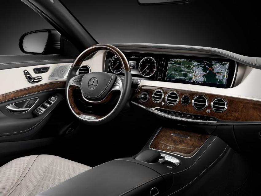 W222 Mercedes-Benz S-Class – official details Image #174811
