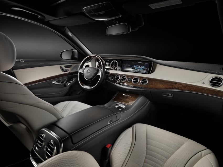 W222 Mercedes-Benz S-Class – official details Image #174813